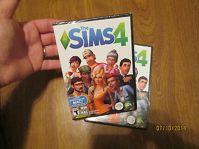 The Sims 4 Pc Mac 2014 Original Brand New Factory Sealed Ship Physical Game