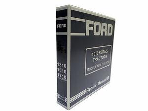 Tractor repair manuals ebay ford 1310 1510 1710 tractor service manual repair shop book new wbinder fandeluxe Images