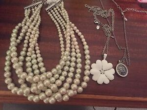 3 new Lia Sophia Necklaces
