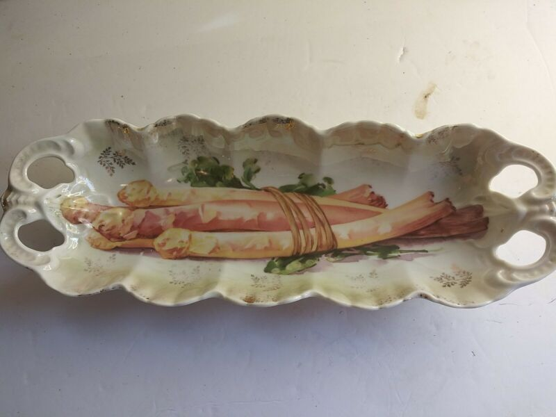 IPF Germany Asparagus Serving Dish 12 Inch Long