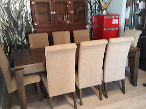 8 seater dining table and chairs Forrestfield Kalamunda Area Preview
