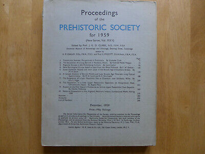 Proceedings Of The Prehistoric Society 1959