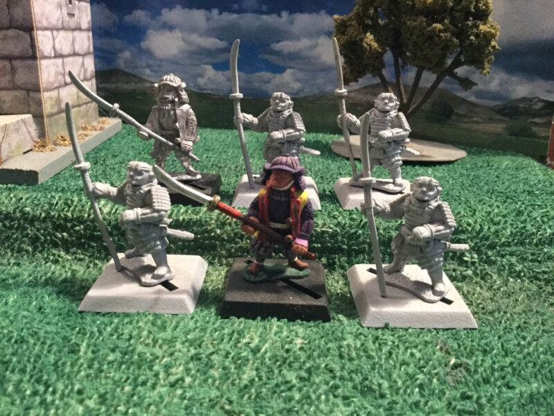 Clan War Ashigaru Spears (6)