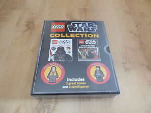 Lego Star Wars Visual Dictionary & Character Encyclopedia book collection - New