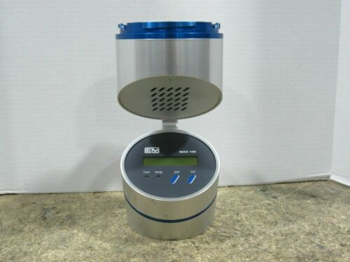 EMD Model MAS-100 Microbiological Air Sampler Power Tested Only w/ No Lid