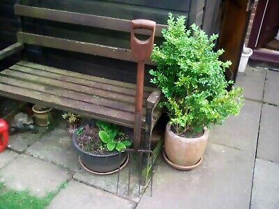 Vintage D handle Garden Fork