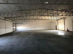Indoor heated space for lease
