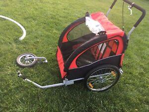 Remorque vélo/poussette double