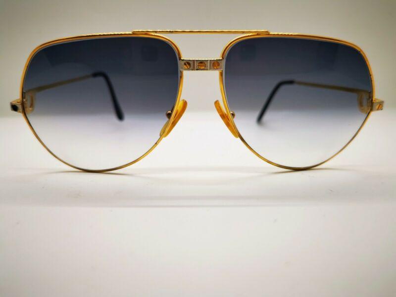 Cartier Vendome Sunglasses - Large (62-14-140) Vintage