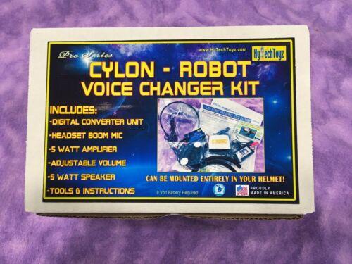 ROBOT - CYLON BATTLESTAR GALACTICA DIGITAL VOICE CHANGER KIT FOR COSTUME HELMET