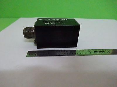 Unholtz Dickie 8803 Accelerometer 100 Mvg Vibration Sensor As Is Binv8-48