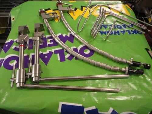Mediflex Surgical Flexarm Delrin Instrument holder Nathanson Liver Retractor