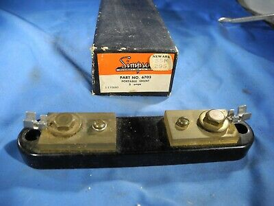 Simpson 6703 Current Portable Shunt 5amp W Box Free Fast Shipping