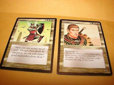 MTG Marhault Elsdragon Torsten Von Ursus magic card legends legendary creature