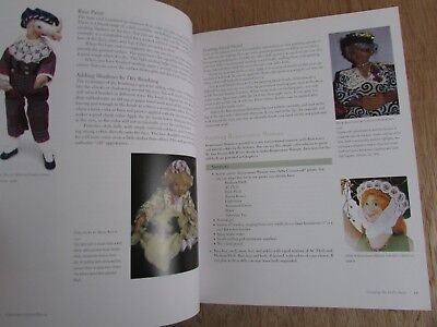 Doll Making Crafting Cloth Dolls Book By Miriam Gourley  Doll Making Books
