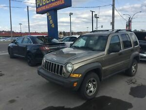 Jeep Liberty Sport 4x4 2007 automatique, air climatisé