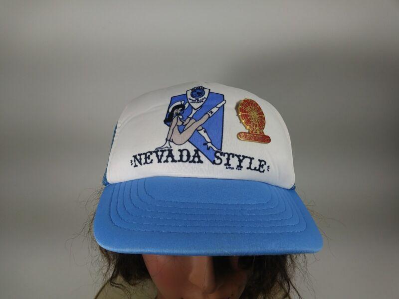 NEVADA STYLE Vintage Jaycees Nudie Cowgirl Hat Cap