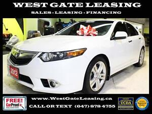 2012 Acura TSX V6 | TECH PACKAGE | NAVIGATION | CAMERA | LEATHER