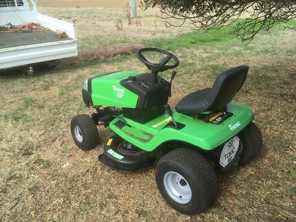 Ride on mower rebuilt