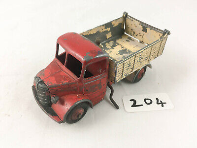 25m Bedford End Tipper - Reproduction Box by DRRB red // cream Dinky #410