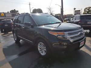 2013 FORD EXPLORER XLT- PANORAMIC SUNROOF, REAR VIEW CAMERA, BAC