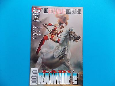 Topps Lady Rawhide, #5 of 5, Stormwatch Team Achilles Comic Books Lot of 2
