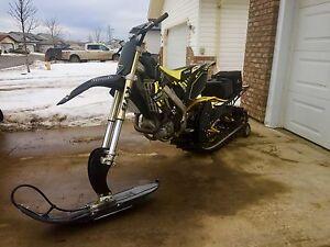 2009 Honda CRF450R (Big Bore)Timbersled Snow Bike