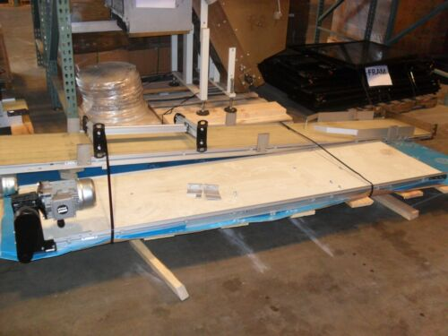 Dorner Series 2200 8 feet x 24 inch. Flat Belt End Drive,