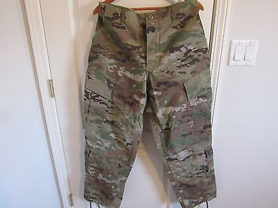 US Army Military OCP Multicam Pants Insect Repellent MEDIUM REGULAR