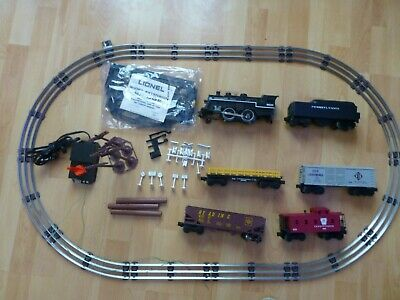 VINTAGE LIONEL CANNONBALL EXPRESS O27 GAUGE 1986 TRAIN SET w/ACCESSORIES