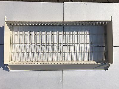 10 Stück Tegometall Gitterkorb 100 cm lg. für Fachboden, 40 cm tief WÜHLKORB