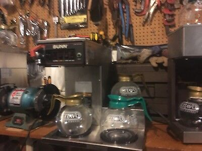 Bunn 12 Cup Automatic Coffee Brewer With 3 Lower Warmers Cwseries  299.00 Obo