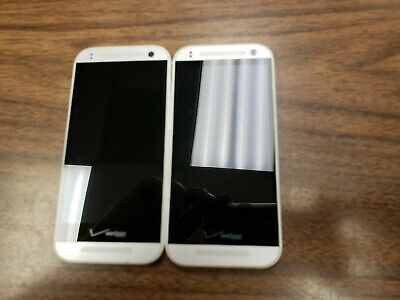 2PCS!! HTC One Remix 16GB(HTC6515L)- Silver - Verizon - Fully Functional - 2PCS!
