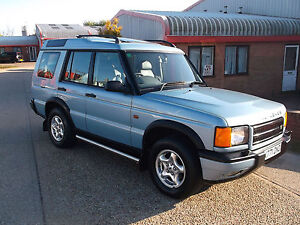 LAND ROVER DISCOVERY 2.5 TD5 ES AUTOMATIC 7 SEATER 5-DOOR FSH MOT/TAX TOW BAR