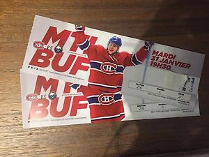 Canadienne vs Buffalo/ le 31 Jan-