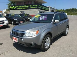 2009 Subaru Forester 2.5 X Limited Package ALL WHEEL DRIVE