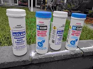 Swimming Pool Chlorine Tablets Leichhardt Leichhardt Area Preview