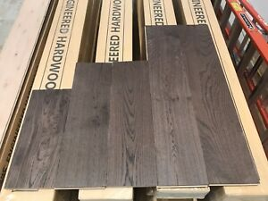 "Handscraped 3/4"" Engineered Hardwood Flooring $4.50/sqft"