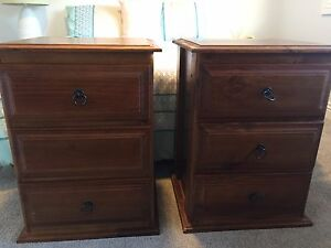 2 x bed side tables Terrigal Gosford Area Preview