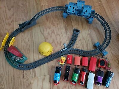 thomas and friends halloween playset trains lot  (Halloween Thomas And Friends)