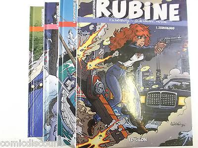 RUBINE Gesamtausgabe Sammlung 1 + 2 + 3 + 4 komplett ( Hardcover 680 Seiten )