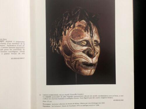 TRIBAL ART AUCTION CATALOG ADER PICARD TAJAN PARIS 1990 AFRIQUE OCEANIE AMERIQUE