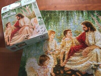 puzzle 550 pieces. Master pieces. All God's Children. Jesus with two children