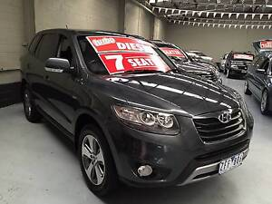 FROM ONLY $97 P/WEEK ON FINANCE* 2012 HYUNDAI SANTA FE CRDi (4X4) Mordialloc Kingston Area Preview