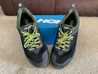 RRP £110 HOKA One One CAVU Running Hiking Walking Trainers Shoes Sea Blue UK 8