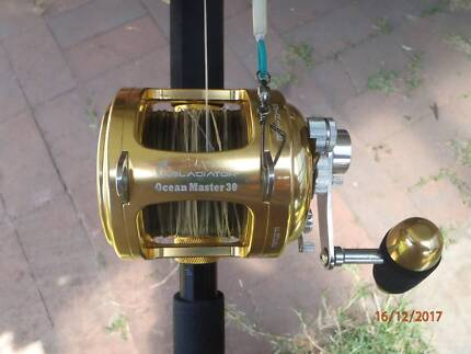 Gladiator Ocean Master 10/15 Kg Game Fishing Combo
