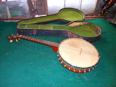 Vintage Banjo THE VEGA COMPANY - Style N - BOSTON MASSACHUSETTS 4 String 1920's