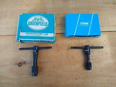 Greenfield 338 339 Ratcheting Tap Wrench Handles Lot Of 2