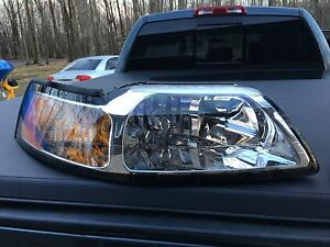 driver's side headlight for 99-04 mustang