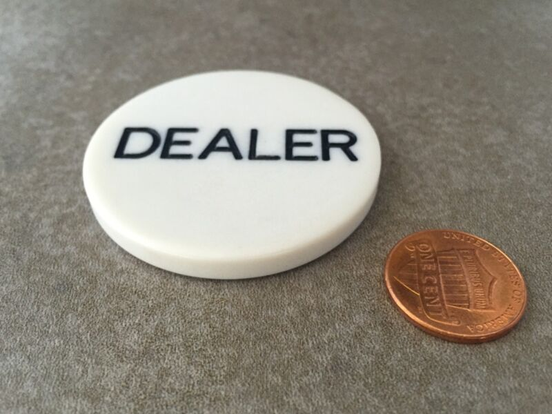 Poker DEALER BUTTON USA SELLER